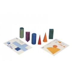 7097 Solidi geometrici plastificati