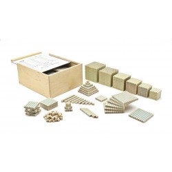 ID061 Bloques aritméticos multibase de madera