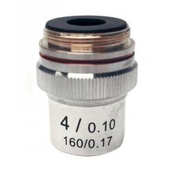 M-131 Obiettivo acromatico 4x/0,10.