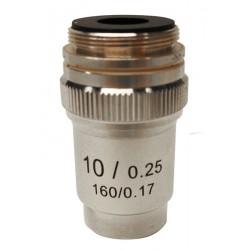 M-132 Obiettivo acromatico 10x/0,25.