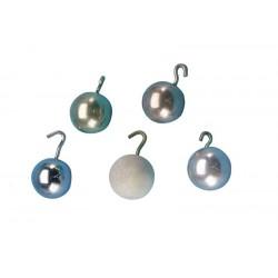 1306 Set di 5 sfere da pendolo