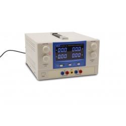 5361 Doble alimentador estabilizado de baja tensión 5+5A