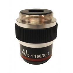 M-137 Obiettivo acromatico 4x/0,10