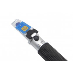 HR-150N Hand Refractometer, 0-80% Brix, Double Scale, Built-in LED Illuminator