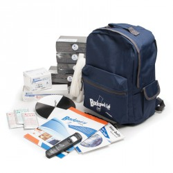 HI3817BP Backpack Lab™ - Zaino con kit combinato analisi acque ambientali