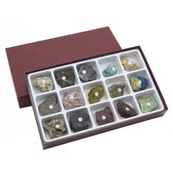 HS2251 Raccolta di 15 minerali dei più comuni metalli