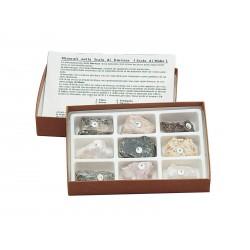 7030 Raccolta di 9 minerali