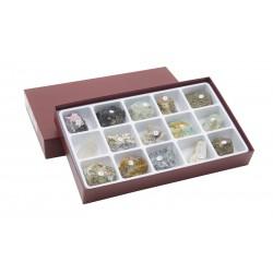 HS2310 Raccolta di 15 minerali-gemme