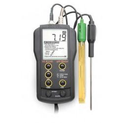 PH-4 pHmetro-termometro portatile con misuratore del potenziale redox (ORP)