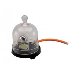 1410 Campana per vuoto con campanello