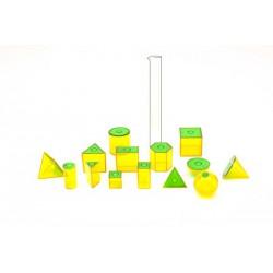 7070 Sólidos geométricos transparentes huecos