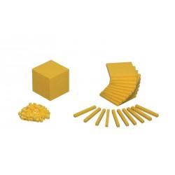 7098Blocchi aritmetici decimali in plastica