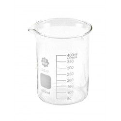 V34 Bicchiere graduato in vetro forma bassa