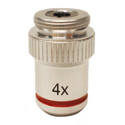M-727 Obiettivo acromatico 4x/0,10.
