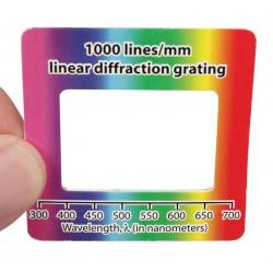 4213 Reticoli di diffrazione 1000 linee