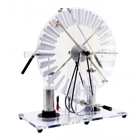 5085 Wimshurst's electrostatic machine