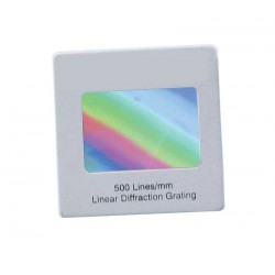 4212 Diffraction grating 500 lines/mm