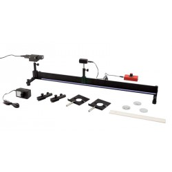 8405 90 cm, optical bench to study luminance, with sensor