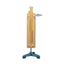 1052 Free air manometers 40cm with stopcock