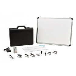 5609 Magnetic version of geometrical optics kit with laser ray box and magnetic board