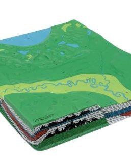 HS502 Serie di 4 modelli geologici