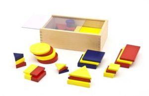 ID058 Figure logiche in legno