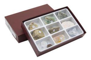 HS2358 Raccolta di 10 minerali
