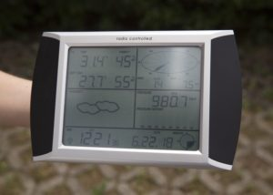 8256 Stazione meteo con touchscreen e interfaccia pc