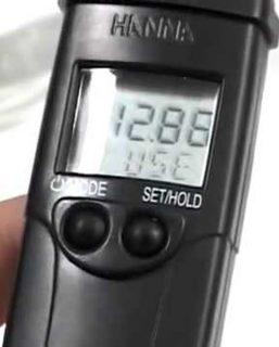 HI98130 Strumento tascabile per pH/EC/TDS/Temperatura – scala EC/TDS alta